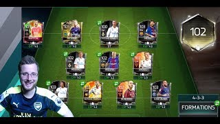 FIFA Mobile 18! The Best Team in FIFA Mobile 18 Gameplay! TOTY Squad Builder 102 OVR FIFPro World XI