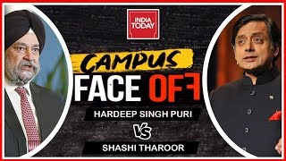 Campus face Off | Shashi Tharoor vs Hardeep Puri Over Who To Vote For In 2019 Lok Sabha Elections?