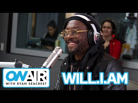 will.i.am Reveals Love For Taylor Swift | On Air with Ryan Seacrest