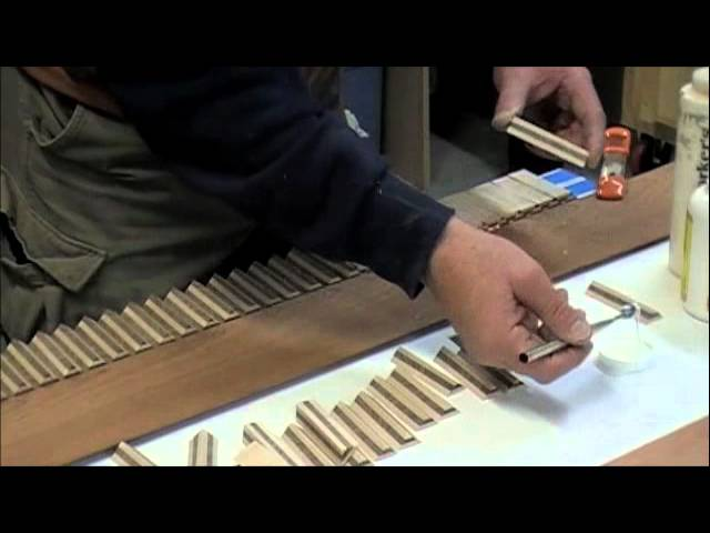 Wood Inlay - How to Make Custom Wood Inlay Banding - Skills & Techniques Tutorial