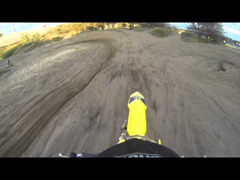 Gopro motocross a few laps at the kuil in ijmuiden