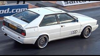 Audi Quattro Coupe B2 - 1/4 Mile -12.43 @ 112mph