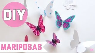 Manualidades con reciclaje, como hacer mariposas con plástico reciclado