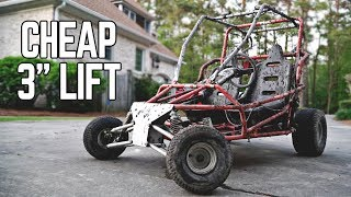 DIY Off Road Go Kart Lift + Post-Mini Mayhem Carnage