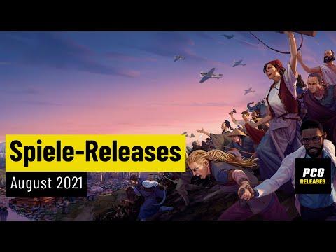 Spiele-Releases im August 2021 | Für PC und Konsolen
