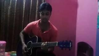 Akhon ami onck valo tomay cara with guitar