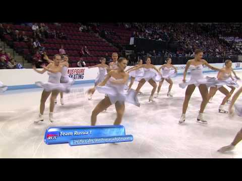 2013 ISU World Synchronized Skating Championships Short Program Highlights