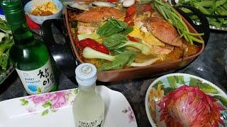 🦀Lẩu Thái cua đá| tomyum soup with stone crab🦀