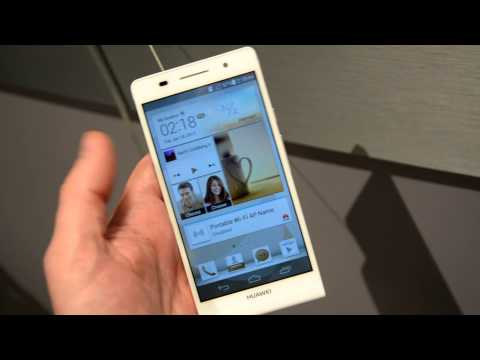 Huawei Ascend P6 review: first look