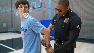 Escaping Handcuffs from REAL COP!!