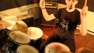 VOMIT FIST - A Public Execution (Drum Lesson)