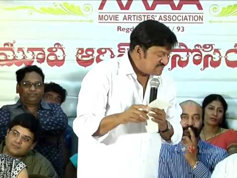 Rajendra Prasad Swearing In Ceremony - MAA Executive Body Swearing In Ceremony 2015 - MAA