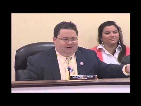 Rep. Farenthold Chairs Hearing on Federal Worker Pension Claims