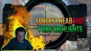 PLAYERUNKNOWN'S BATTLEGROUNDS LONGEST SNIPE HEADSHOT PUBG - PUBG Highlights #3