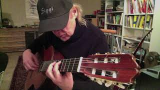 Classical Guitar Prelude Gaspar Sanz played by Siggi Mertens
