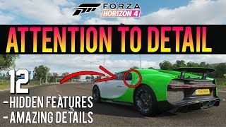 Forza Horizon 4 - 12 Things You Didn't Know! - Hidden Features & Details