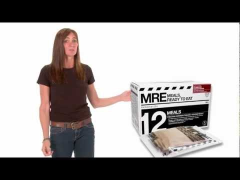 MRE Meals Ready to Eat by Meal Kit Supply