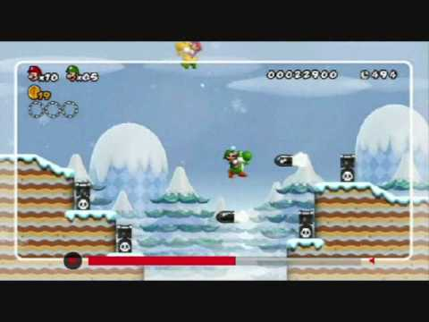 New Super Mario Bros. Wii - 'Super Skills' trailer