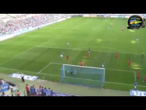 Real Oviedo 4 - Guijuelo 0 desde Grada -- nº 55 de VideoblogASTURIAS.com