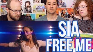 video download gratis SIA -FREE ME - REACTION - Zoe Saldana