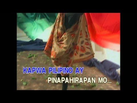 Ang Bayan Kong Sinilangan As Popularized By Asin Video Karaoke video