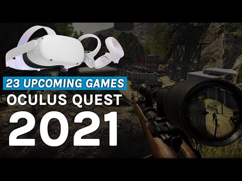 22 games coming to Oculus Quest in 2021 (& 1 movie!)