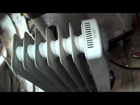 DIY Hybrid Propane Generator running
