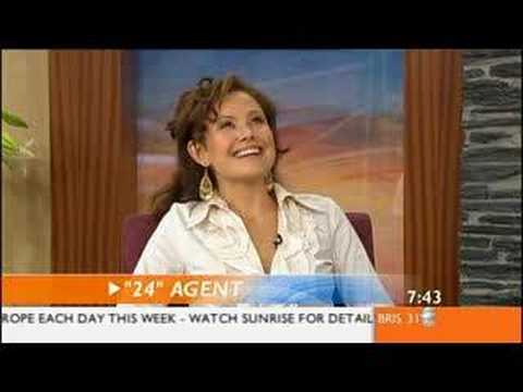 Reiko Aylesworth interview season 4 in Australia Video