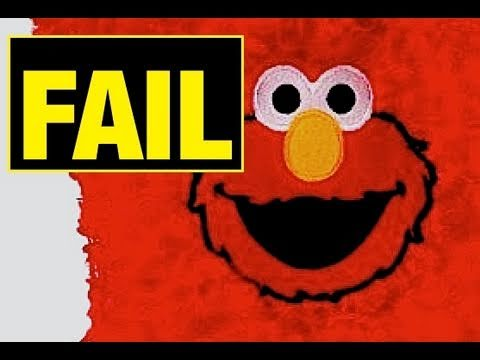 Elmo FAIL TOY,  Funny