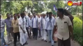YSRCP MLA Rajanna dora  participates in sangibava yatra