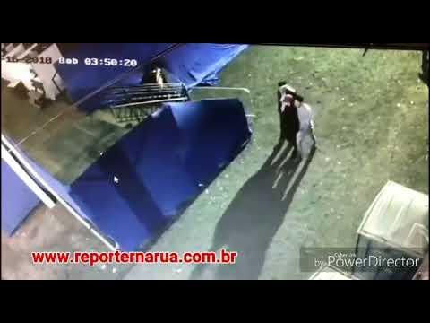 Câmeras flagram furto em camarote na FAPI