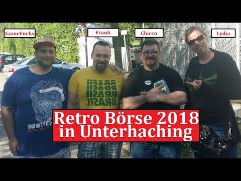 Retro Börse 2018 in Unterhaching, 28 04 2018 fette Funde und ein Überraschungsbesuch