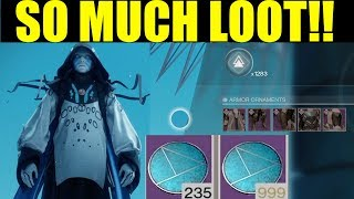 Destiny 2 Loot from 1300 Trials Of The Nine Tokens (Season 2 New Trials Gear / Weapons)