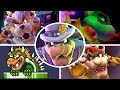 Evolution of Bowser Battles in Mario Games (1985 - 2018)