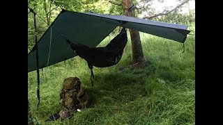 SOLO HAMMOCK CAMP AND COOKING