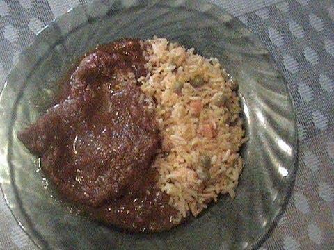 receta de chuleta de cerdo con jitomate y chipotle