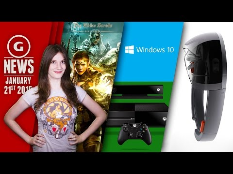 GS News - Windows 10 Free Upgrade; Microsoft's New Hologram Headgear!