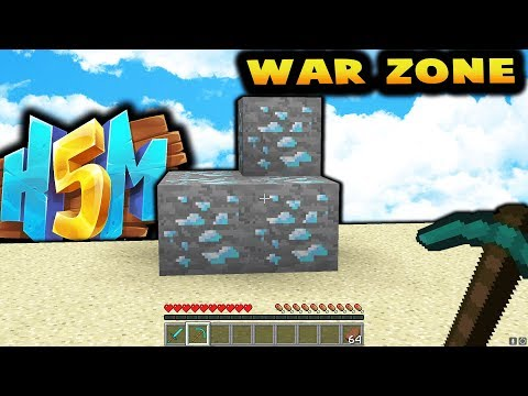 FINDING THE WARZONE!? - HOW TO MINECRAFT S5 #5