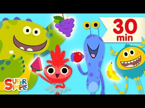 Download  Songs About Food | Kids Songs Collection | Super Simple Songs Gratis, download lagu terbaru