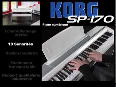 Piano numérique Korg SP170 (La Boite Noire)
