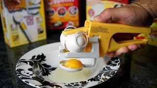 As Seen On TV EGG Gizmos TESTED!