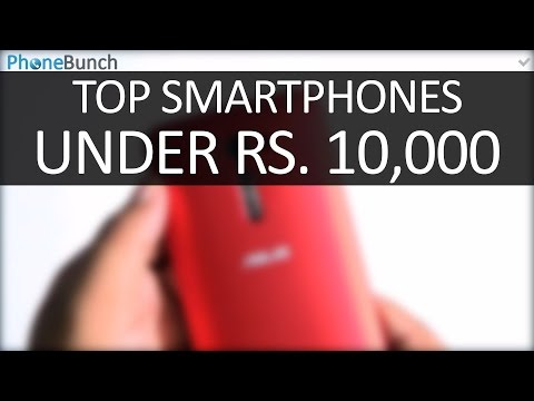 Top Smartphones Under Rs. 10000