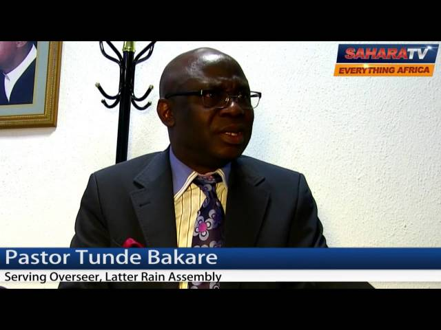 Posterity Will Judge Jonathan If He Fails to Implement Confab Report - Pastor Tunde Bakare