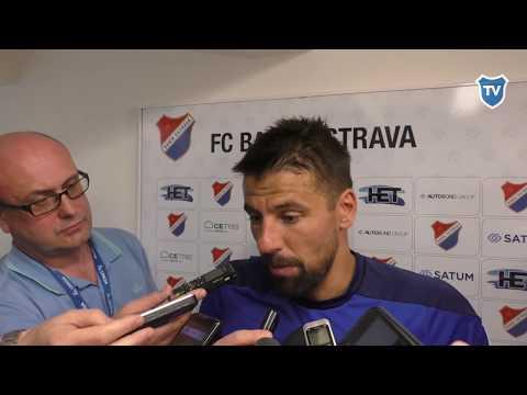 HET liga: Milan Baroš hodnotí utkání se Spartou (3:2)