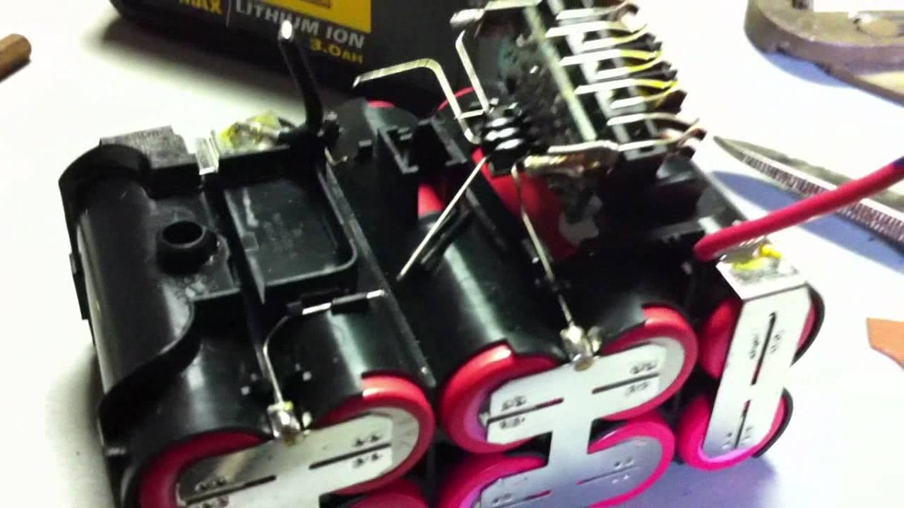 Ebike 60v 15s Battery Build From Dewalt 20vmax Packs