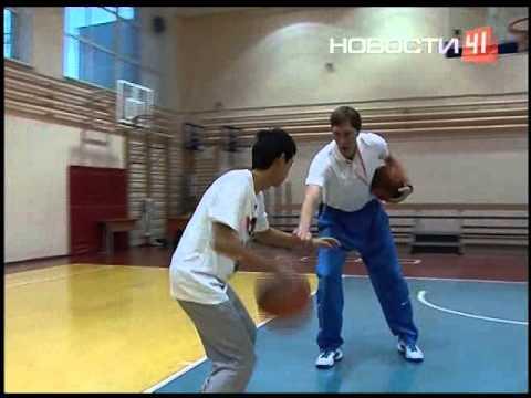 Видео как научиться играть в баскетбол