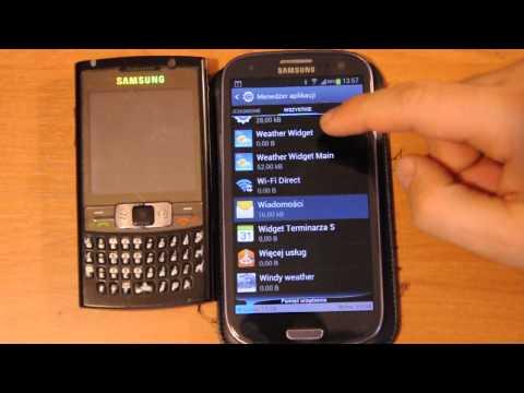 Samsung Galaxy S 3 Aplikacja Wiadomości Została Zatrzymana | Robert Nawrowski | Robert Nawrowski