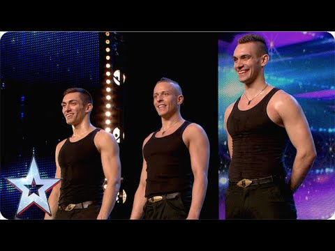 Hungarian (thigh) slappers (Britain's Got More Talent 2015)
