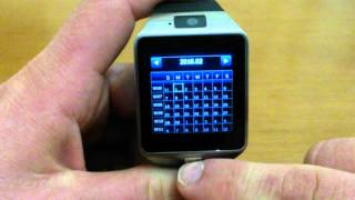 Smart watch DZ09 greek review