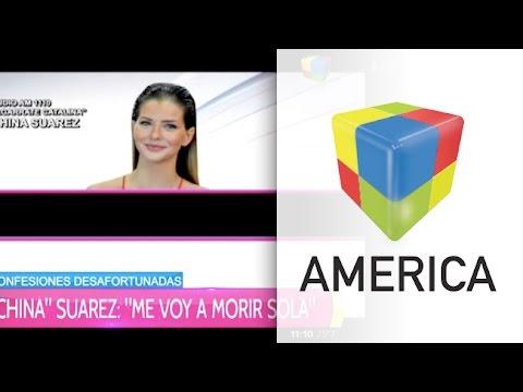 """La China Suárez se definió como enamoradiza"""""""